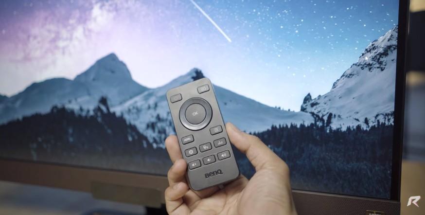 BenQ-EW3280U-remote