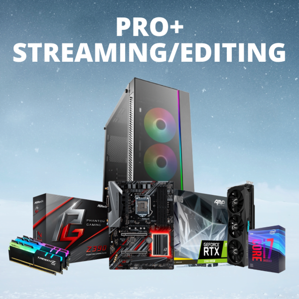 RACUNTECH PRO STREAMING/EDITING PC