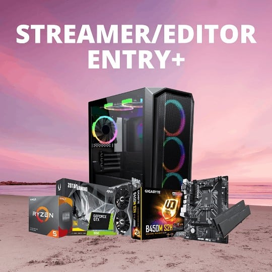 RACUNTECH ENTRY+ STREAMING/EDITING PC