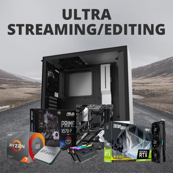 RACUNTECH ULTRA STREAMING/EDITING PC